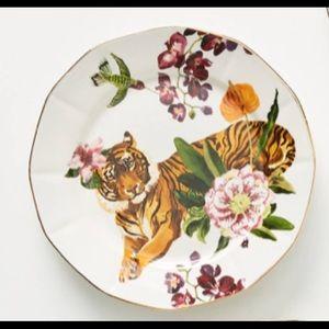 Nathalie lete Anthropologie tiger plate